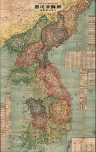 korea-map1911
